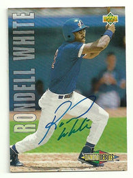 Rondell White Signed 1993 Upper Deck Baseball Card - Montreal Expos - PastPros