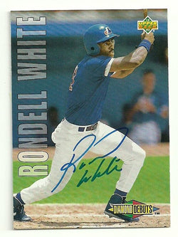 Rondell White Signed 1993 Upper Deck Baseball Card - Montreal Expos