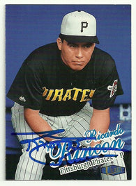 Ricardo Rincon Signed 1998 Fleer Ultra Baseball Card - Pittsburgh Pirates