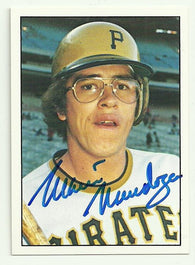 Mario Mendoza Signed 1975 SSPC Baseball Card - Pittsburgh Pirates
