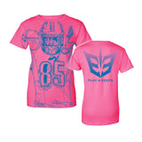 Eric Ebron P4K Fresh All Over Tee (Women's)