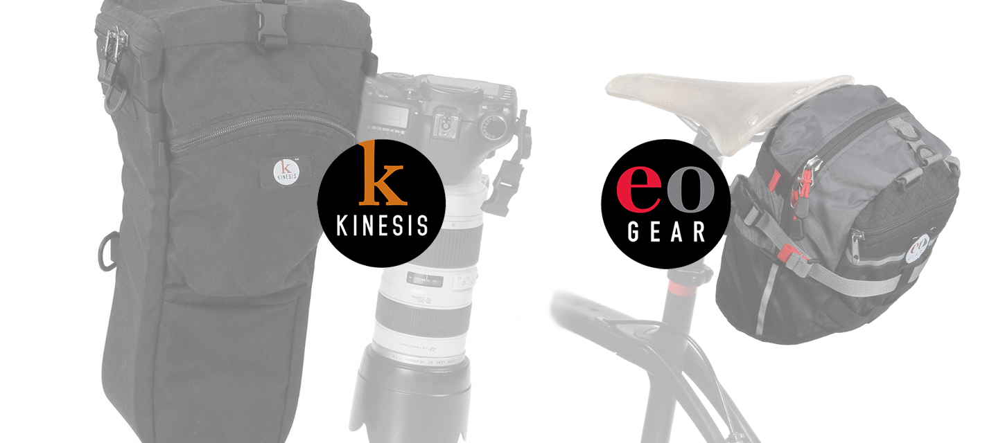 Kinesis Photo Gear & eoGEAR. Premium bags for photographers & endurance outdoor athletes.