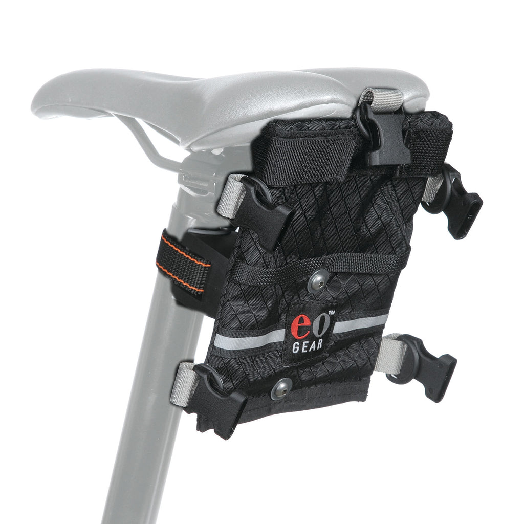We typically recommend a Dual-mount bracket for use with the Rolltop bags.