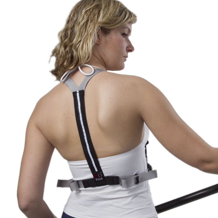 eoGEAR Rear Y-Harness / Gray + Black
