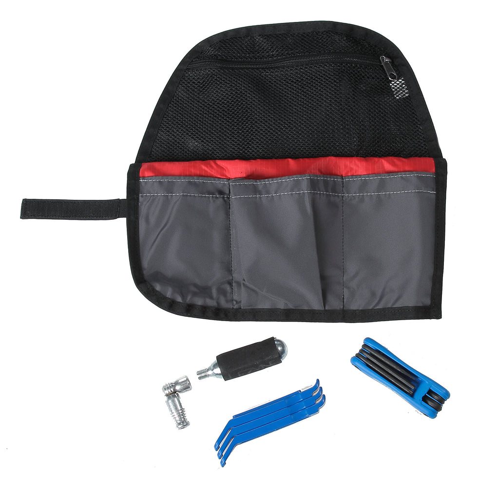 Wrap & Roll with Tool Kit accessory option.
