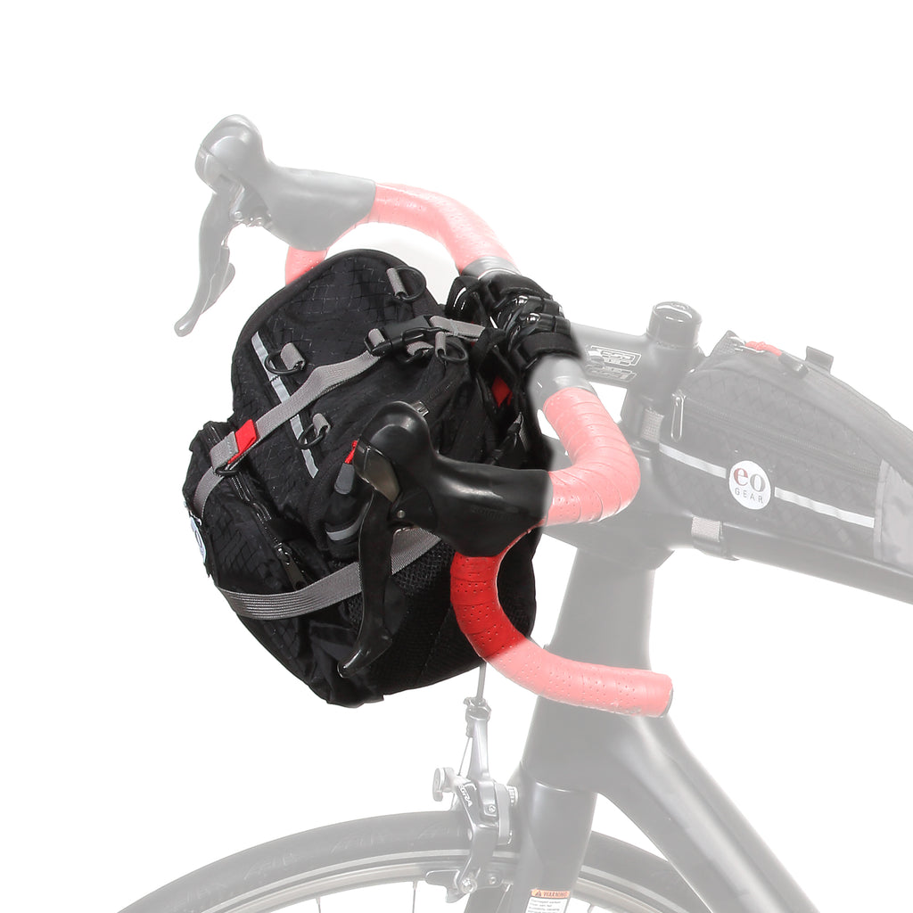 6.8 bag mounted to the Soft-side Handlebar Adapter