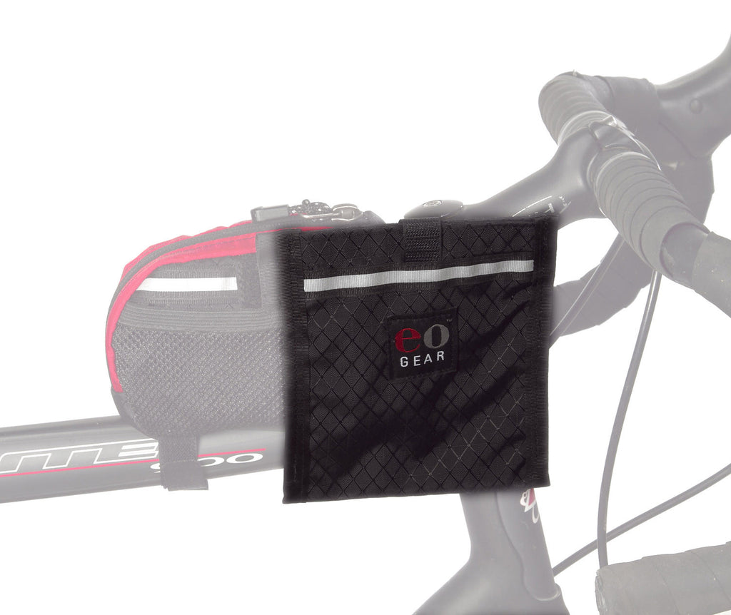 In the forward (typical) position on a top tube bag.
