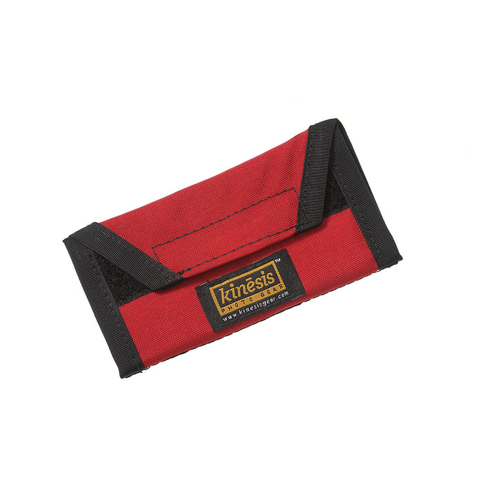 D004 — 4-Card Media Wallet / Red