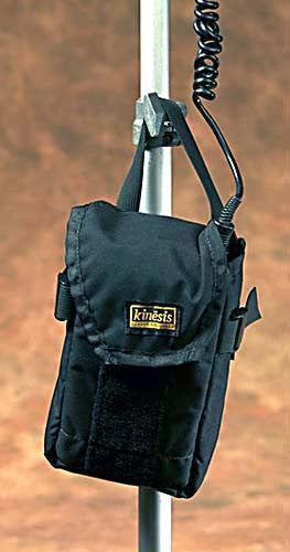 F162 – Medium Utility Pouch attached to Light Stand