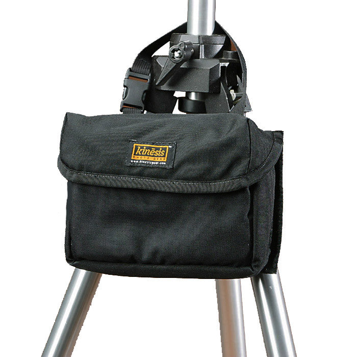 This pouch can be attached to a tripod for convenient field (smaller F169 shown).