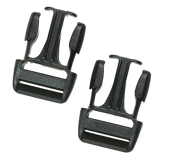 H432 Stealth QR Buckles (2 male)