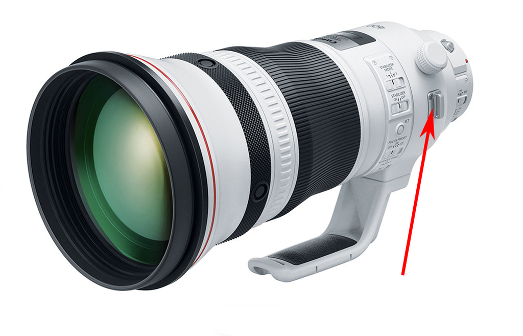 A pair of H435s will also attach to the slotted lugs on your long lens (instead of to your DSLR or mirrorless body).