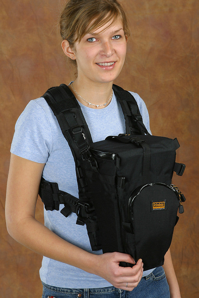 H717-H: X-Harness with holster case attached in front.