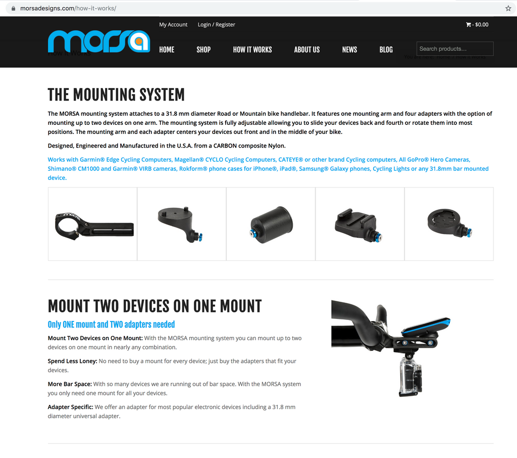Consider a Morsa mounting arm for both your GPS and your light & angle it up above your handlebar bag.