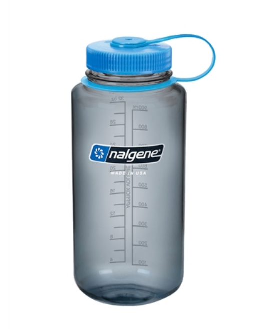 Nalgene® Wide Mouth Round Bottle (1.0 liter)