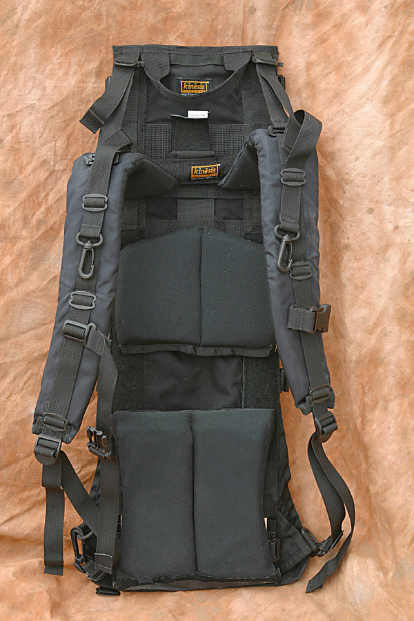 Harness side (back pad is now one long piece and much more functional and elegant)
