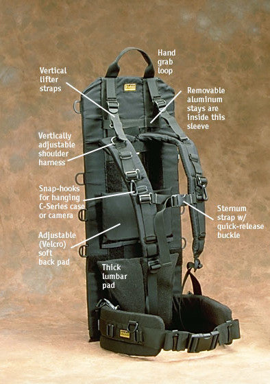 P019 — Heavy-duty Pack Frame — Special order, allow 4 to 6 weeks