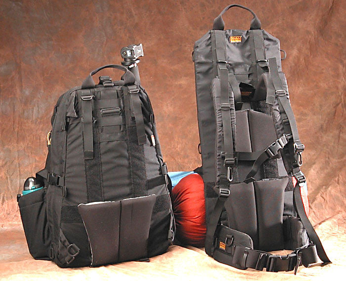 Old style Journeyman pack & Heavy-duty Frame Compared