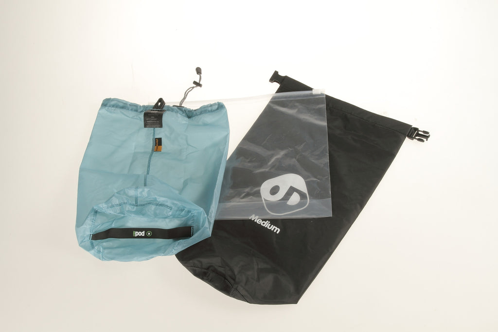 Accessory bags can be added as waterproof inserts.