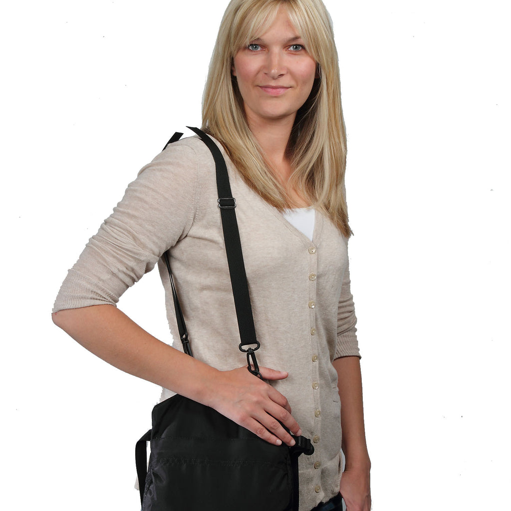 With optional Y215 Unpadded Shoulder strap