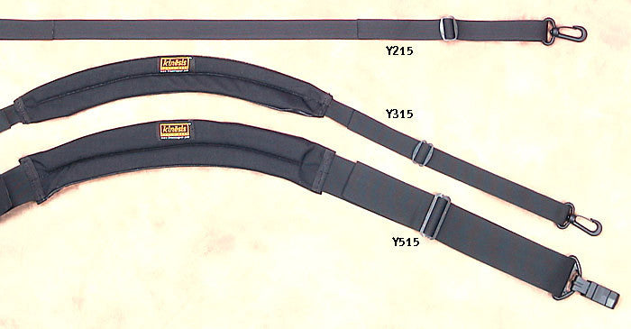 All of our shoulder straps for comparison