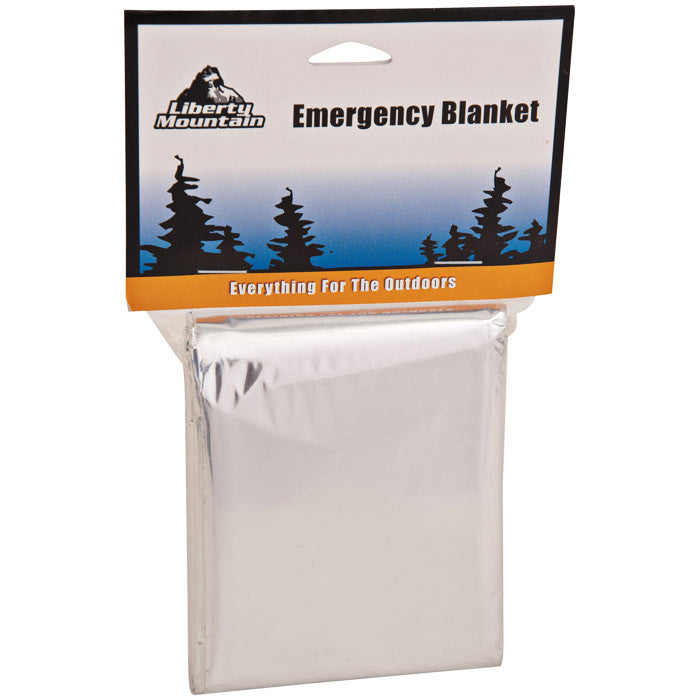 Liberty Mountain Emergency (foil) Blanket