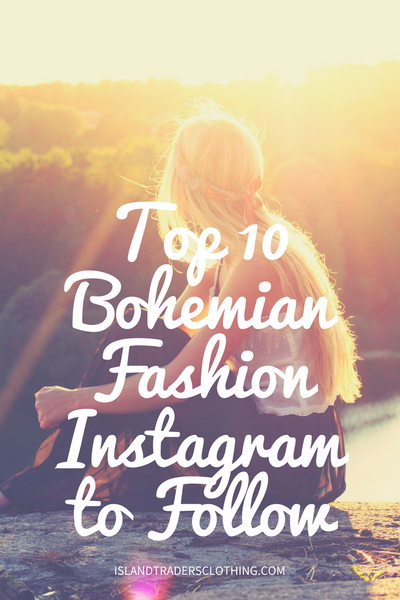 Top 10 Bohemian Fashion Inspiration Instagrams to Follow