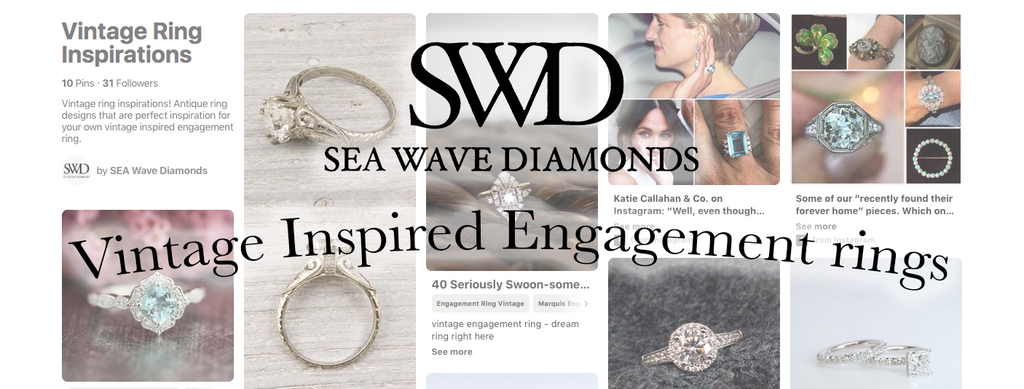 Our Favorite Trends: Vintage Style Engagement Rings