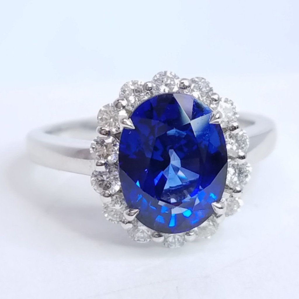 and sapphire image target rings diamond art style ring deco from