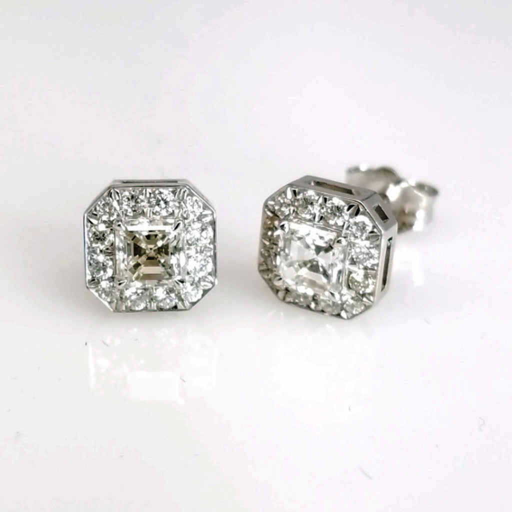 EARR01106 - SEA Wave Diamonds