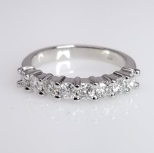 Diamond Wedding Band 0.56cts - SEA Wave Diamonds