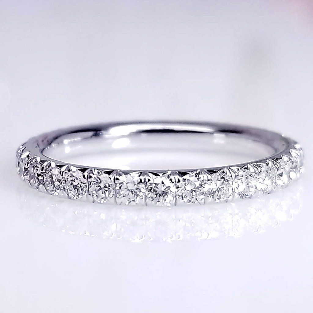band all the bands in diamonds platinum pav gold true melee pave width eternity with wb diamond ring large french around white