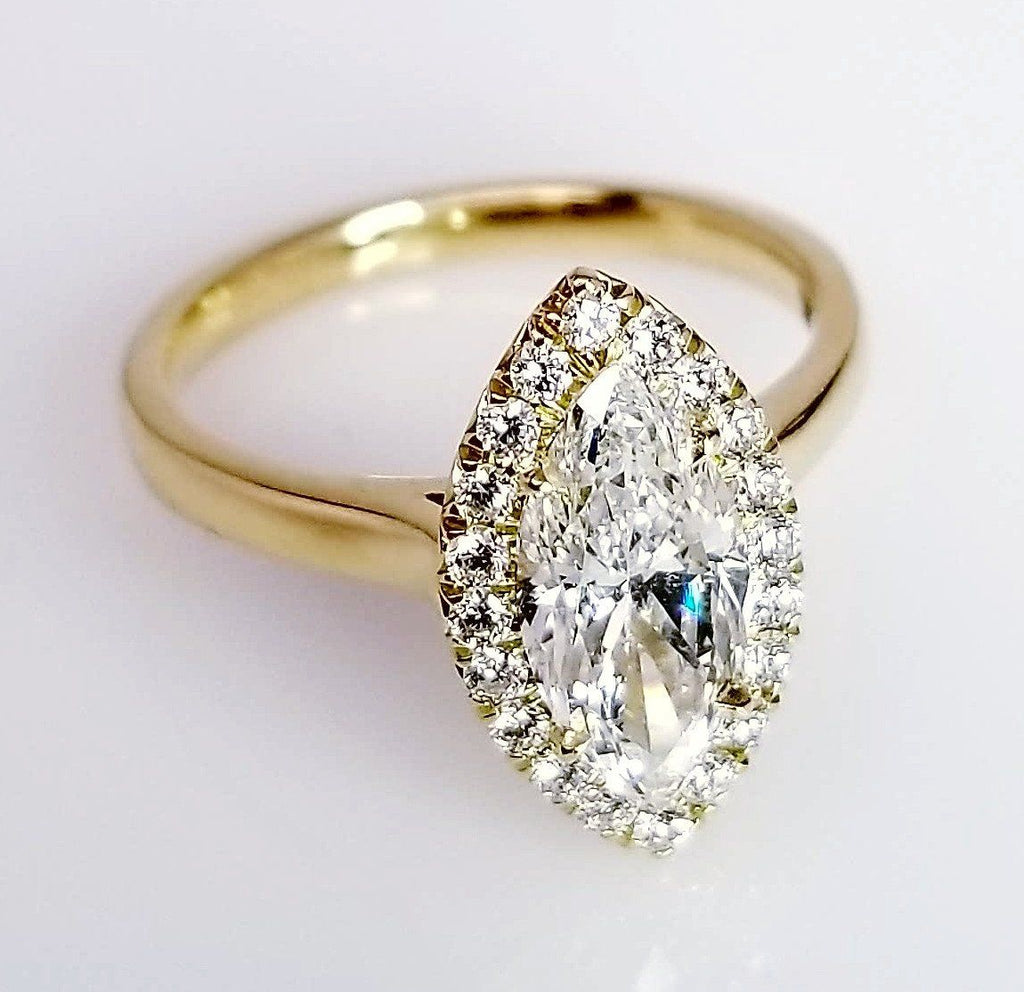 dimond diamond round engagement rings ring pear vintage toronto