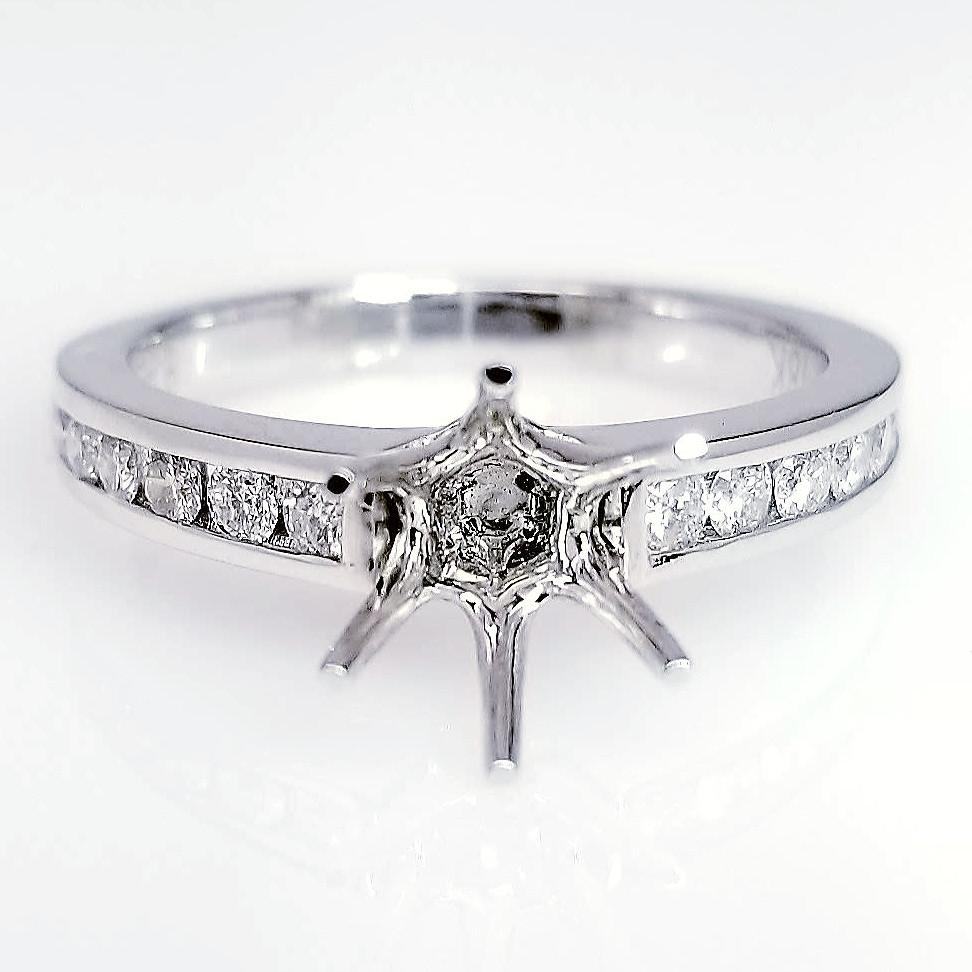 elegant set wedding dress channel in inspirational ring band diamond luxury platinum diamonds