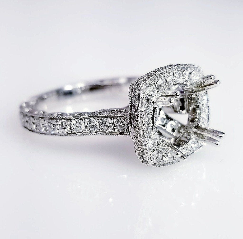 kara up diamond filigree jewellery signature engagement rings by vintage kirk inspired