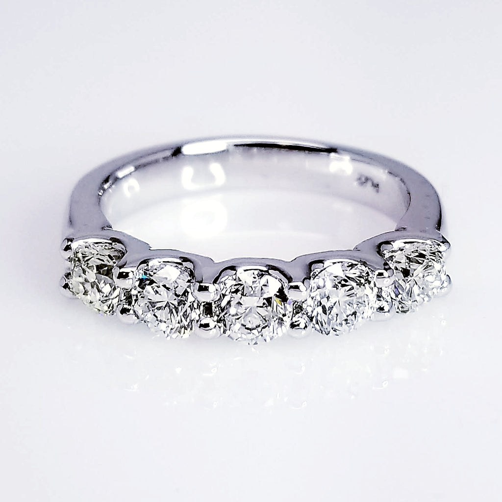 white gold diamond ring stone engagement