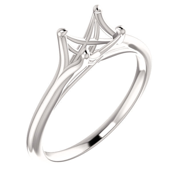 Round Solitaire Ring Mounting