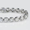 Bezel Set Tennis Diamond Bracelet - SEA Wave Diamonds