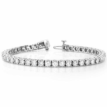 Round Cut Diamond Tennis Bracelet 6.00cts