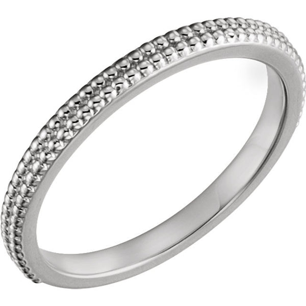 Bead Ring - SEA Wave Diamonds
