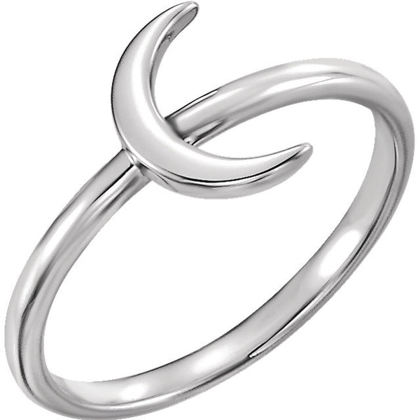 Crescent Ring - SEA Wave Diamonds