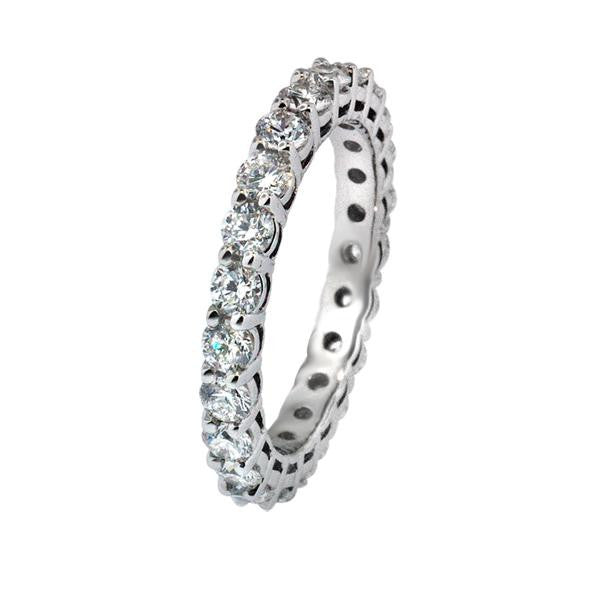Diamond Eternity Band 1.70cts - SEA Wave Diamonds