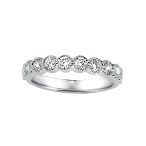 Different Shaped Wedding Bands SEA Wave Diamonds