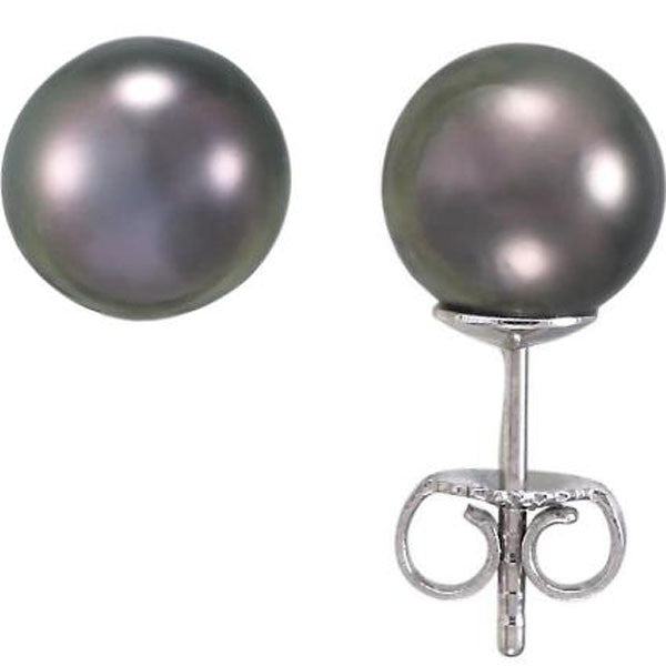 Tahitian Pearl Studs