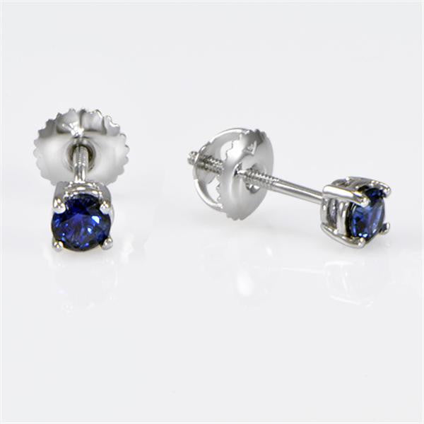 Sapphire Stud Earrings