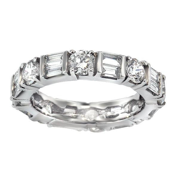 Diamond Eternity With Baguettes And Rounds