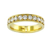 1.07 Carat Diamond Eternity Band in 18K Yellow Gold (1.07 ct. tw.) - SEA Wave Diamonds