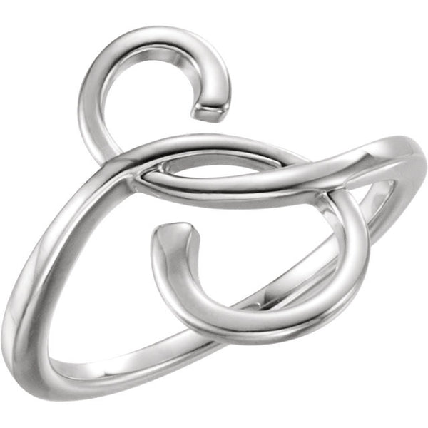 Freeform Fashion Ring - SEA Wave Diamonds