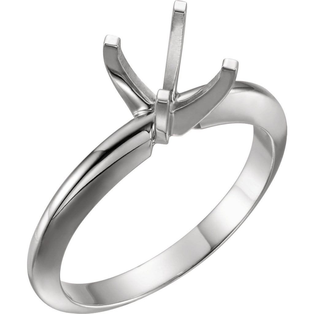 Four Prong Solitaire Ring Mounting