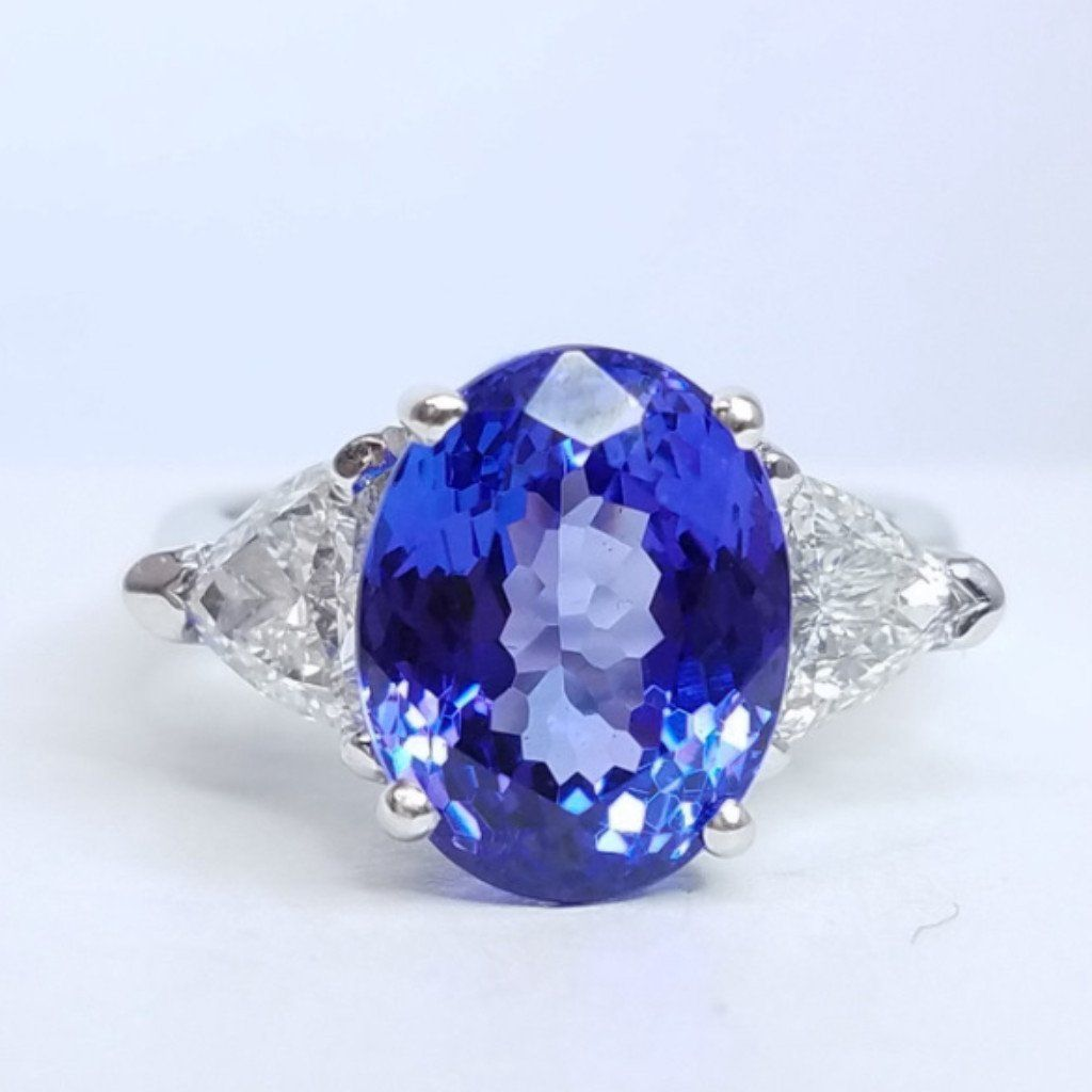 violet gemstones cushion tanzanite sku shape gemstone carat